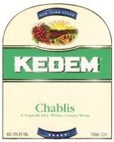 Kedem Chablis 750ml - Case of 12